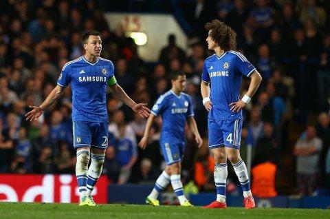 YDMYKET: Chelsea og John Terry måtte se seg slått av Atletico Madrid.