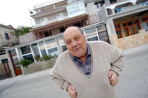 HELDIG MANN: Nå 85 år gamle Frane Selak skal ha lurt døden syv ganger.