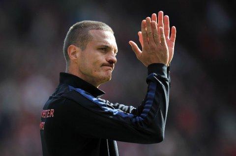 SNAKKER UT: Nemanja Vidic sier Manchester United-spillerne kranglet mye denne sesongen.