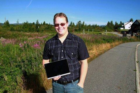 FIKK REGNING: Thor-Even Skjølås vant et nettbrett i en fotokonkurranse og fikk regning i posten.