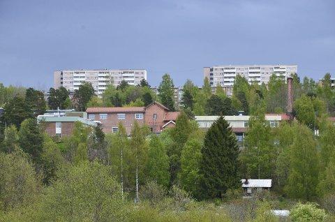 Eterfabrikken: Er i dag et kreativt samlingssted i bydelen, i påvente av boligutvikling. Det foreslås 130 leiligheter på eiendommen. Arkivfoto: Nina Schyberg Olsen