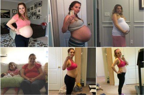 FIREBARNSMOR: Joannas blogginlegg om kropp og selvtillit etter fire barnefødsler har gått viralt.