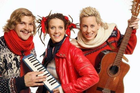 I NRK: Lars Andreas Aspesæter har vært å se i NRKs Julemorgen. Nå blir det pianospilling og underholdning for de voksne fredagskveldene.