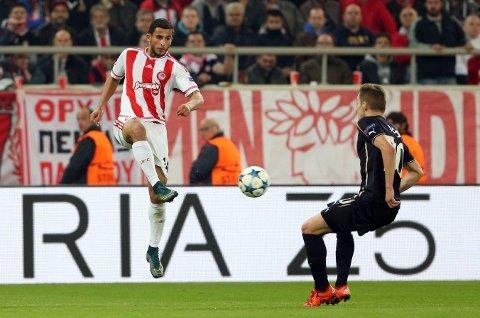 BAYERN: Omar Elabdellaoui og Olympiakos møter Bayern München.