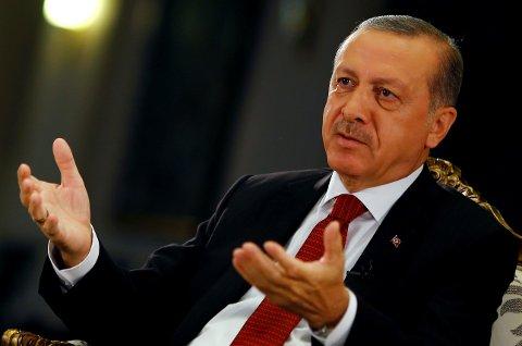 mnesty International mener de har pålitelige bevis på at personer som har blitt pågrepet i Tyrkia etter kuppforsøket 15. juli, har blir utsatt for mishandling og tortur. Bildet viser president Recep Tayyip Erdogan.
