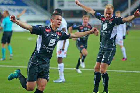 BYTTER BEITE: Finske Jukka Raitala (foran) er ferdig i Sogndal og fortsetter karrieren på andre siden av Atlanterhavet.