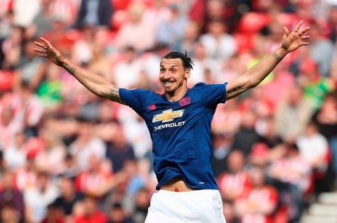 HEI-HEI: Zlatan Ibrahimovic vinker muligens farvel til Manchester United og forsøker å få oppmerksomheten til andre europeiske storklubber.