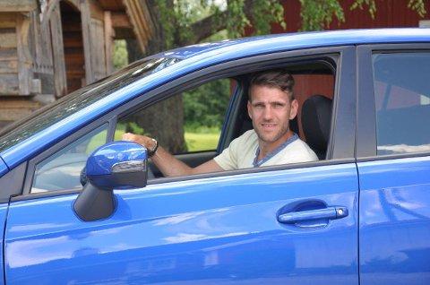 MISTET LAPPEN: Vegard Møller Johnsen mistet lappen i ti måneder etter en laserkontroll på motorveien.