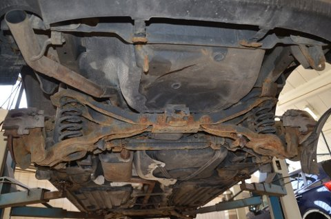 Du tror kanskje dette er en gammel bil? Det er det ikke - denne har rullet på østlandsveiene i bare drøyt fire år.