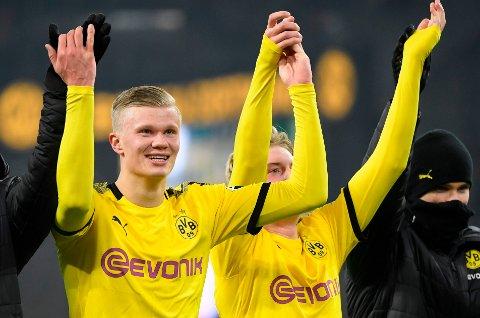 Erling Braut Haaland har rukket å bli en yndling hos Dortmund-fansen. Nordmannen kan få en enda høyere stjerne hos supporterne om han sende dem videre i Champions League. Vi tror 19-åringen scorer mot PSG.