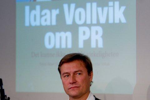MAKEOVER: I 2009 lanserte Idar Vollvik boken Idar Vollvik om PR. Hans egen Ludo Store fikk en omdømmeknekk i høst etter at Legemiddelverket advarte mot munnbindene hans. Nå har nettbutikken byttet navn.