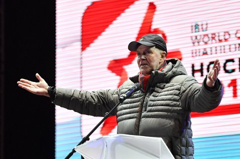 I WADA-STYRET: Anders Besseberg satt i WADA-styret i sin periode som skiskytterpresident.