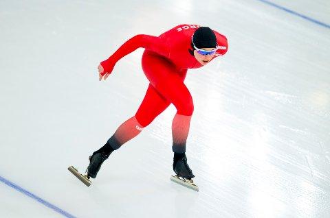 Marit Fjellanger Bøhm er blant fem nye skøyteløpere i elitelagene for kommende sesong. Foto: Vegard Wivestad Grøtt / NTB