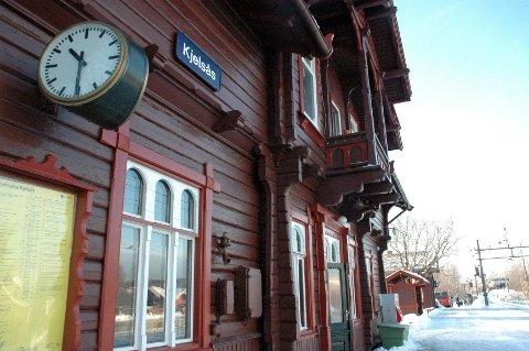 Kjelsås stasjon på Gjøvikbanen.