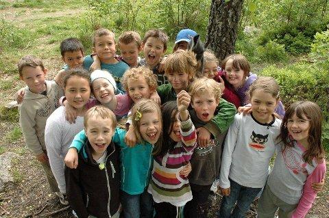 Lurer på litt av hvert: Klasse 3C på Kjelsås skole er nominert til prisen Årets Nysgjerrigper for andre året på rad.