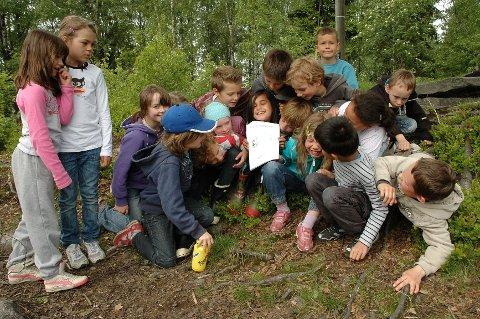 Tredjeplass: Tredjeklassingene på Kjelsås og undersøkelsen om ungdom som hører på musikk.