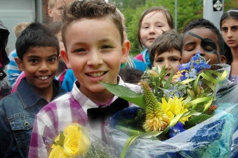 KOMMER: Daniel Johansen Elmrhari (11) vant Norske talenter i mai. Lørdag danser han på Ullevaal, når kjøpesenteret arrangerer Barnas Dag.