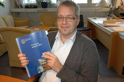 BEDRE TIDER: Økonomisjef Håkon Kleven gleder seg over at Bydel Østensjø er kommet i økonomisk balanse.