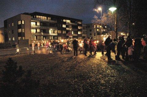 FAKKELTOG: Lørdag fra klokken 15 er det tid for Røa-folkets årlige markering av at adventstiden er i gang.