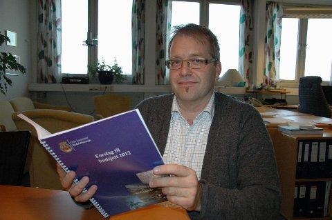 UDRAMATISK BUDSJETTFORSLAG: Økonomisjef Håkon Kleven i Bydel Østensjø sier at budsjettforslaget for 2012 ikke byr på noen dramatiske overraskelser.
