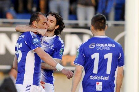 SCORET: Tidligere Vålerenga-spiller Bojan Zajic scoret mot gamleklubben.