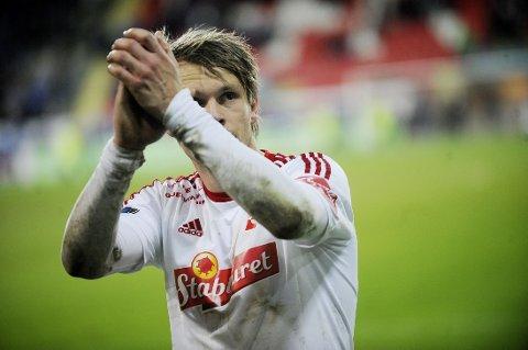 SCORET: Vidar Martinsen scoret for Fredrikstad.