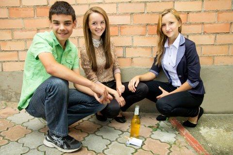 DE drakk og røyka, var de mest populære og veslevoksne. Hva skjedde med dem etter ungdomsskolen?