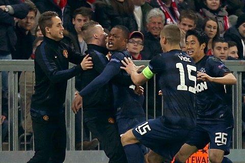 PÅ VEI BORT? Patrice Evra skal angivelig være enig med Juventus.