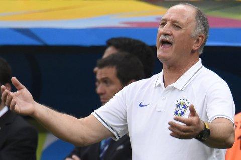 BRASIL-SJEF: Luiz Felipe Scolari er brasiliansk landslagssjef i sin andre periode.
