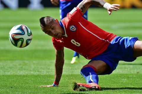 UNITED: Arturo Vidals fremtid ser mer og mer ut til å ende i Manchester United.