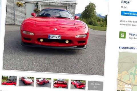 Denne bilen er i bedre stand nå, enn den var da den ble levert ut fra fabrikken, skal vi tro selgeren.