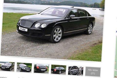 Bentley Continental Flying Spur er britisk luksusbil på det beste - med en V12-er så sterk som et jordskjelv under panseret.