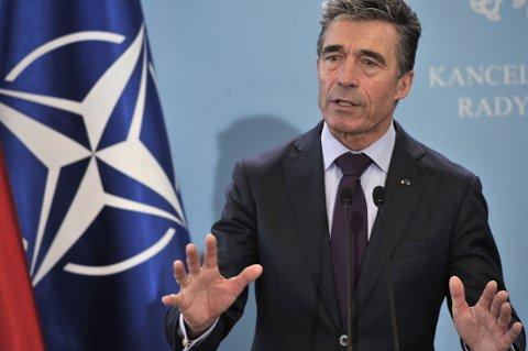 NATO-sjef Anders Fogh Rasmussen mener at russernes grensekrenking er et klart bevis på at de stadig destabiliserer situasjonen i Øst-Ukraina.