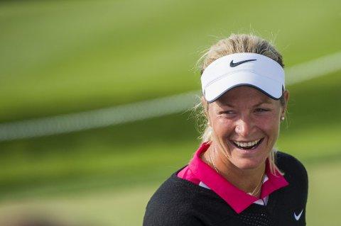 REKORD: Innsamlingen gikk over all forventning for Suzann Pettersen.