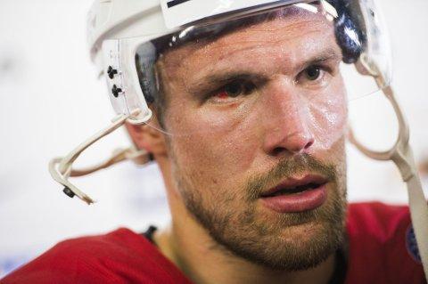TAP: KHL-proff Jonas Holøs og hans klubb tapte mandag.