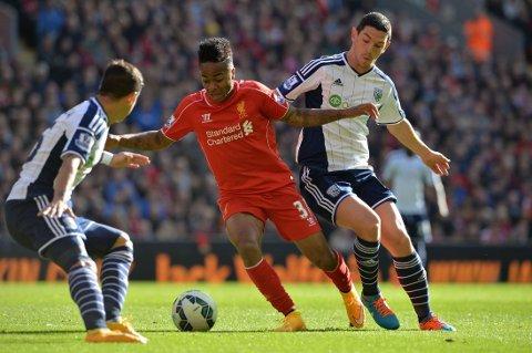 STJERNE: Raheem Sterling er nå en av Liverpools største stjerner.