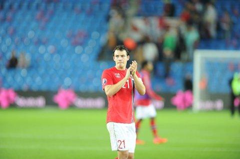 VIL KONTROLLERE: Vegard Forren vil at Norge skal kontrollere søndagens EM-kvalifiseringskamp mot Aserbajdsjan.
