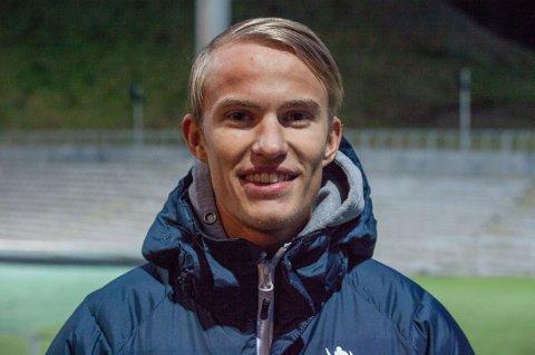 INSPIRERT AV DÆHLIE: Daniel-André Tande var som skikongen Bjørn Dæhlie en ubenyttet reserve i sitt første OL.