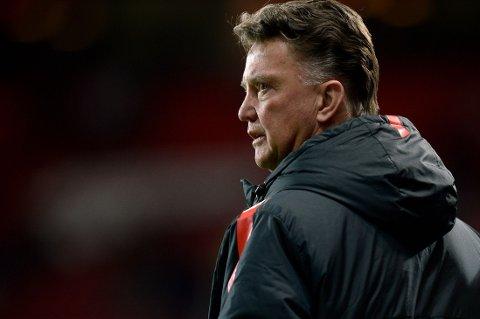 LIKER IKKE RYKTENE: Manchester United-sjef louis van Gaal.