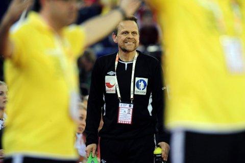 GULLGROSSIST: Da Norge slo Spania i EM-finalen søndag, sikret det samtidig Thorir Hergeirssons fjerde mesterskapsgull.