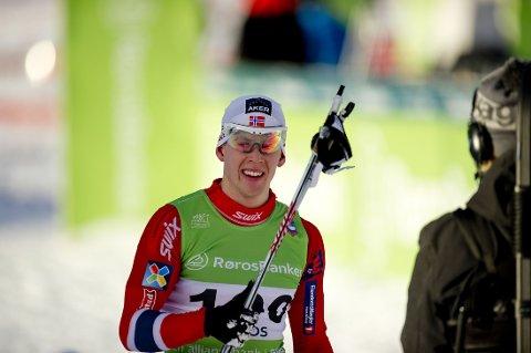 NM-GULL: Anders Gløersen var best av alle på 15-kilometer i NM.