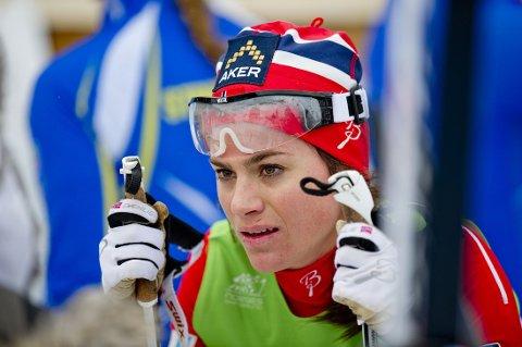 NUMMER FIRE: Heidi Weng var skuffet etter NM-sprinten.