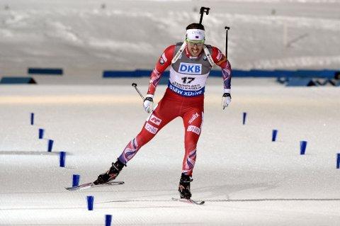 SØLVGUTT: En sliten Emil Hegle Svendsen var fornøyd med sølv.