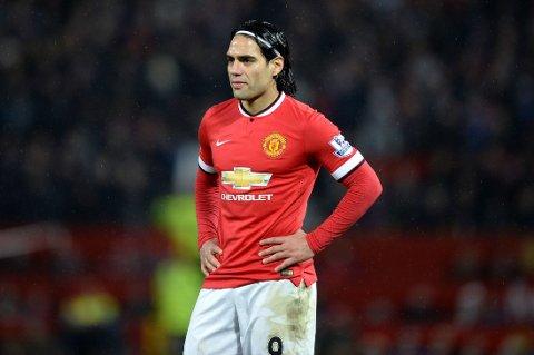 DYR I DRIFT: Radamel Falcao har kostet Manchester United svimlende summer.