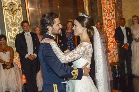 FÅR TITTEL, men ikke gods og gull. Sofia Hellqvist ble prinsesse Sofia i navn og ikke penger.