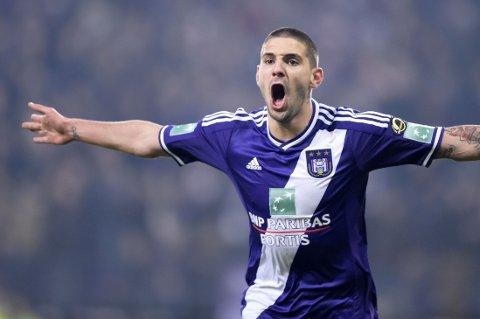 KLAR: Aleksandar Mitrovic har signert for Newcastle.
