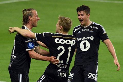 NORSK JUBEL Rosenborg leverte varene i Ungarn.