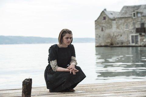 ARYA STARK eller Maisie Williams er i gang med sjette sesong av «Game of Thrones».