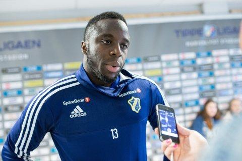 UAKTUELL: Adama Diomande går glipp av begge de neste EM-kvalifiseringskampene med Norge.