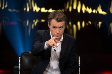 """Fredrik Skavlans l""""Skavlan"""" spilles inn torsdag kveld. Fredag kan du se sendingen på TV."""